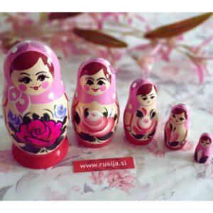 Ruska babuska matrjoska na zalogi v spletni strgovini Ruski ekspres.