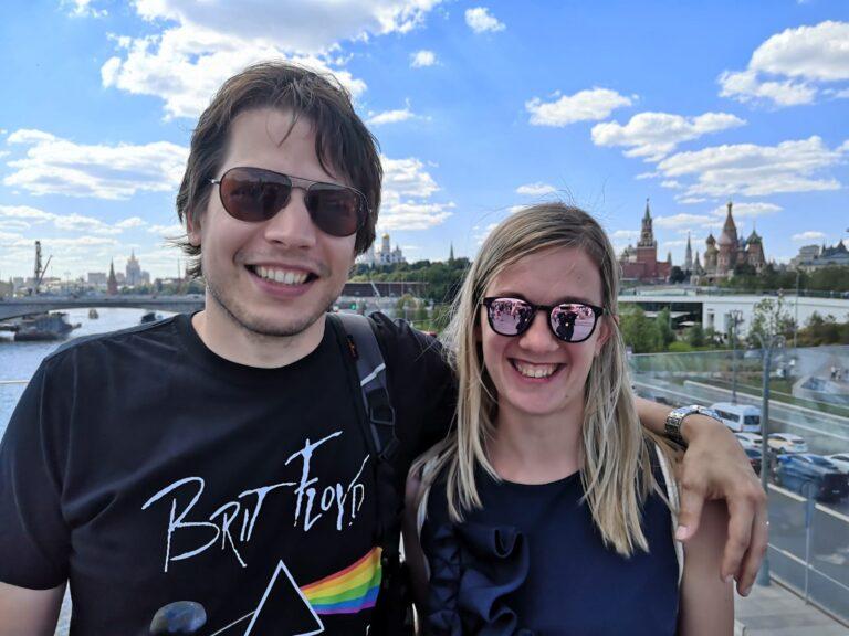 Matej in Katarina Ruski ekspres potovanje Rusija Moskva in Sankt Peterburg