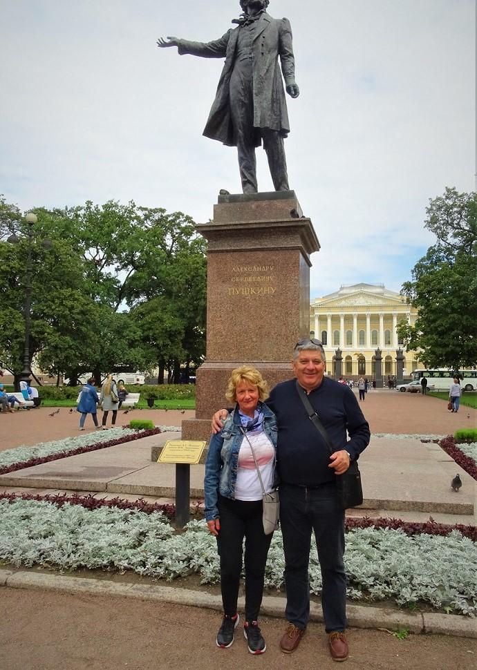 Stanislav in Marijana Lubej ruski ekspres potovanje v rusijo sankt peterburg puskin moskva