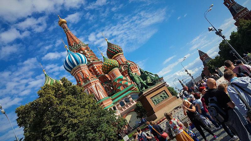 Potovanje v Rusijo z Ruskim ekspresom ogled Moskovski Kremelj in Rdeci trg ter cerkev Vasilja Blazenega