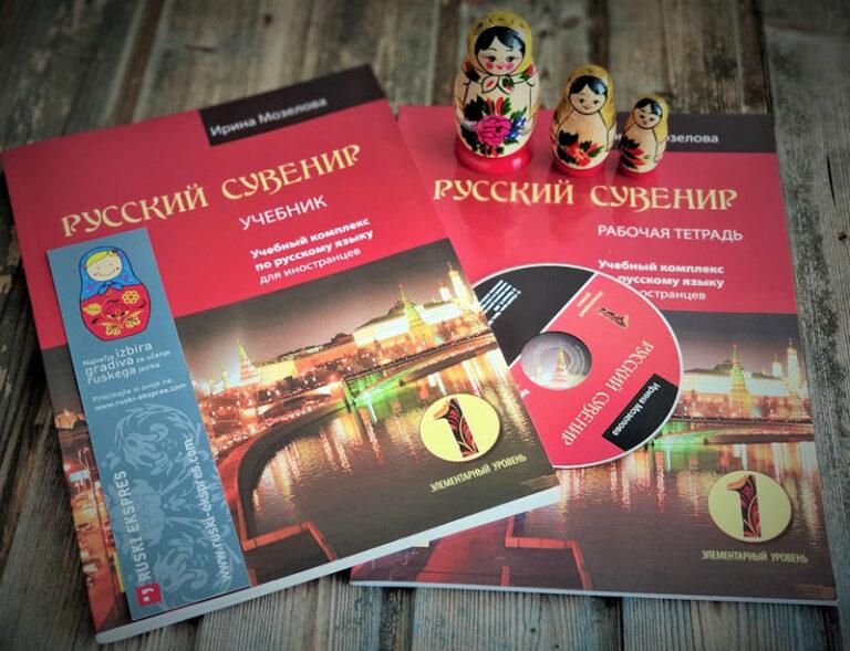 ruski ekspres knjige za branje v ruscini ucbeniki ruskega jezika jezikovna sola