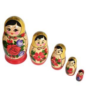Babuska Ruska tradicija 5 punck v eni. Kupiti lahko v ruski trgovini Ruski ekspres. 1