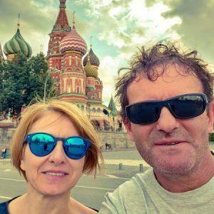 Barbara in Josko ruski ekspres rusija potovanja sankt peterbur in moskva potovanje v moskvo